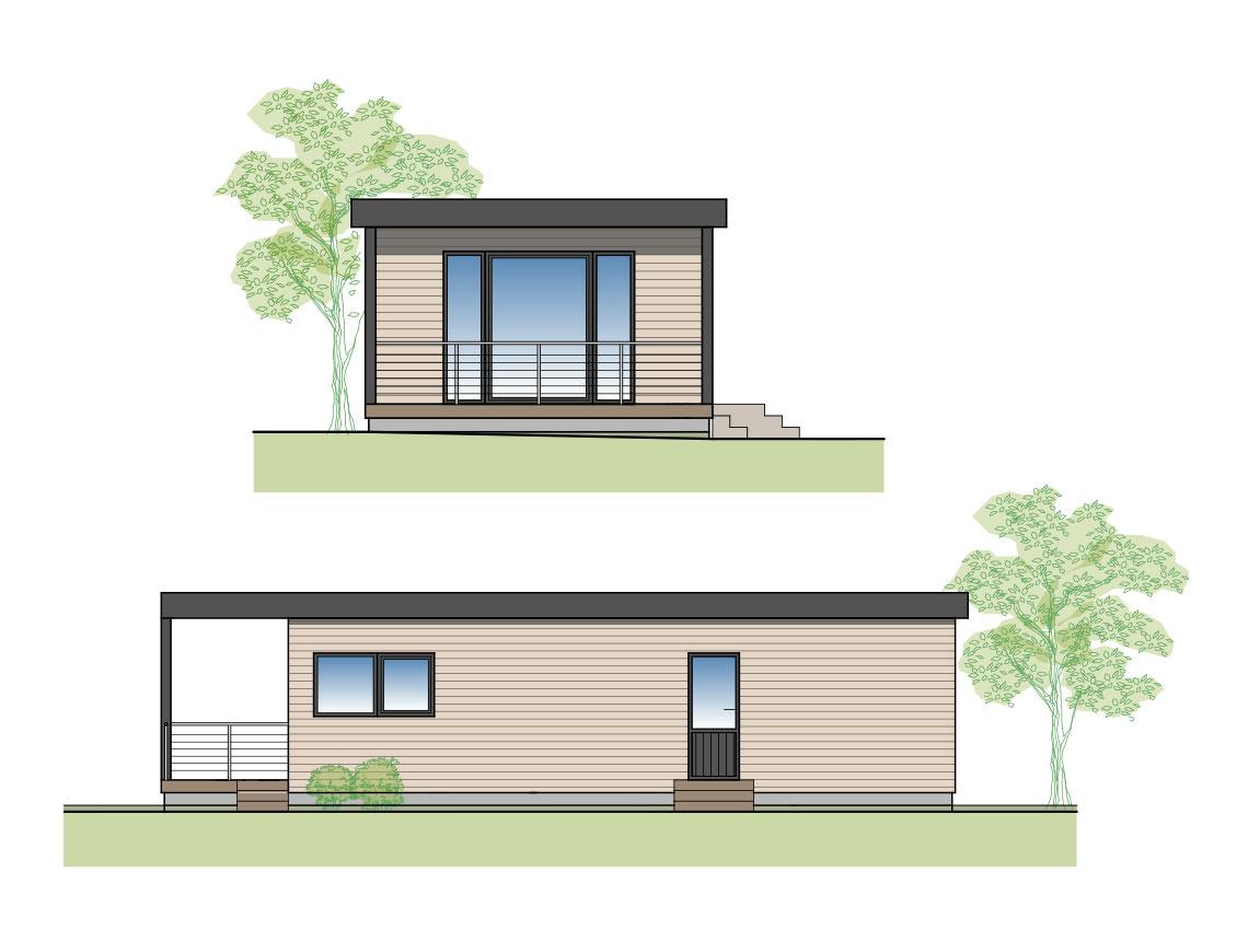 Kleines Waldhaus, Olsberg, Elpe, Sauerland, Tiny House